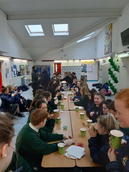 6th year wellness hot chocolate morning