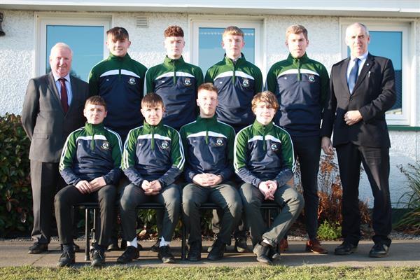 Senior boys Gaelic football